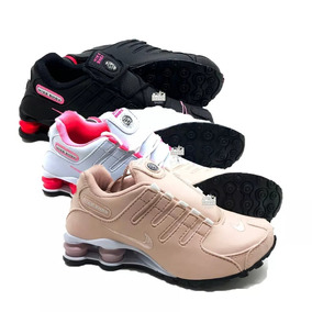 Combo 3 Pares Tênis Nike Shox Nz Masculino E Feminino