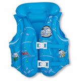 Colete Inflável Infantil Turma Da Mônica Baby Azul Mor