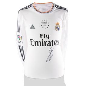 Gareth Bale Playera Firmada Real Madrid Campeones De Europa