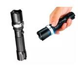 Lanterna Tática Swat Led Sy-002 Police Recarregável Sos Nova