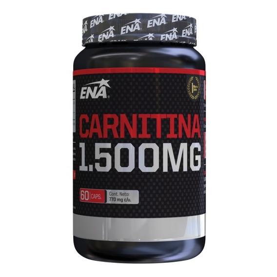 Carnitina 1500 Mg (60 Caps) Ena Sport- Quemador Grasa P