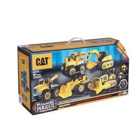 Cat Maker Set De Maquinas Caterpillar Armables