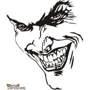 Calcomanía Joker 02 20 X 17 Cm Graficastuning