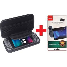 Case Para Nintendo Switch + Película De Vidro