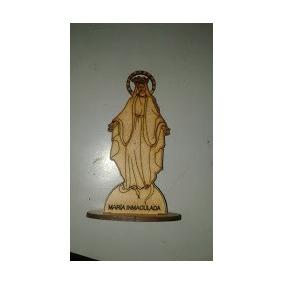 Virgen María Inmaculada En Madera Mdf