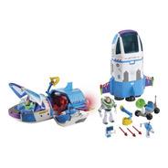 Comando Estelar Nave Espacial Buzz Toy Story Luces Y Sonidos