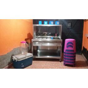 Estufon De Baño Maria Carrito Para Tacos