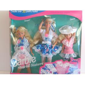 Barbie Y Hermanas Sharin De Colección 1992