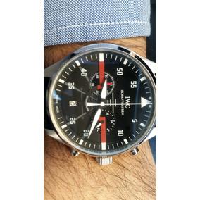 Relógio Masculino Iwc Schaffhausen Clássico