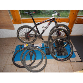 Bicicleta Scott Scale 30 Carbono Y Extras