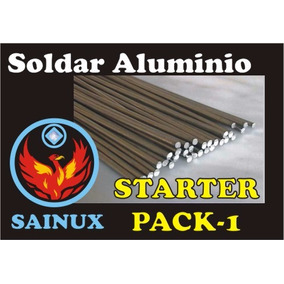 Kit Inicial Para Soldar Aluminio Solo Con Soplete