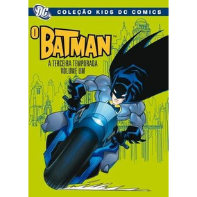 Dvd O Batman - A Terceira Temporada Volume Um