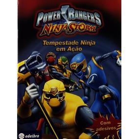 Power Rangers Ninja Storm-tempestade Ninja Em Ação - Disney
