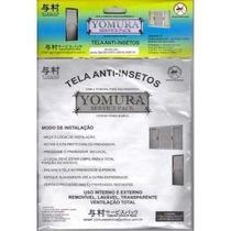 Tela Mosqueteira Anti-inseto Para Janelas 1,20x1,20 3 Pç