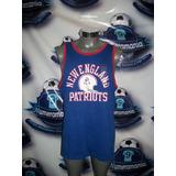 Playera Musculosa Gym Original Nike Nfl Pats Patriotas