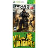 Gears Of War 3 - Xbox 360 - Físico - Mdz Videogames