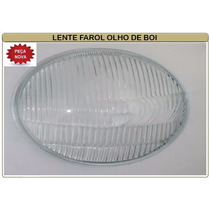 Lente Vidro Do Farol Vw Fusca Olho De Boi 63/72 Unidade