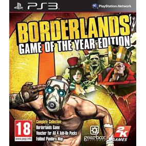 Borderlands G. O. T Y Español - Mza Games Ps3