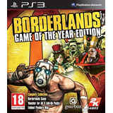 Borderlands G. O. T Y Español - Mza Games Ps3