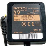 Cargador Sony Minidisc 3v Ac-es305k Envio A Interior