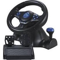 Volante Racer Js073 3x1 Ps2/ps3/pc Azul Multilaser 12x