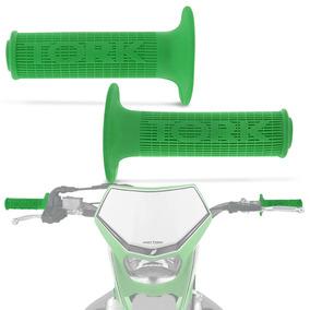 Manopla Pro Tork Mx2 Racing Grips Moto Universal Verde