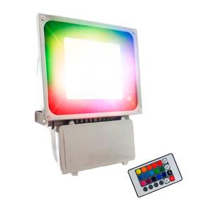 Reflector Led 75 Watts Multicolor Con Base Ajustable,