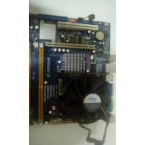 Placa Mãe 775 Ddr3 G41csv-m + Processador Celeron 430