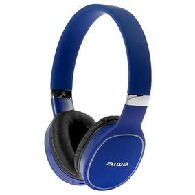 Fone De Ouvido Sem Fio Aiwa Aw2 Pro Bluetooth/microfone Azul