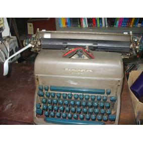 Maquina De Escrever Remington Rand Standard Anos 60