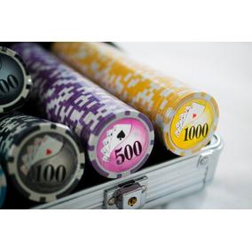 Maleta Poker 500 Fichas Holográficas