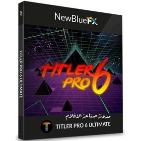 Newblue Titler Pro 6 Ultimate X64 Versão 2019