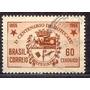 Selo Brasil,cent. De Botucatu,60c 1955,usado.ver Descrição.