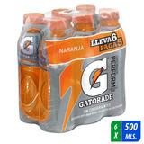 Gatorade Sabor Naranja 500 Ml Six Pack