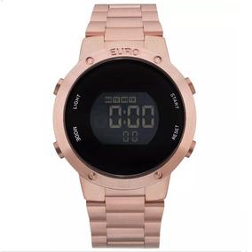 4a40b97a0ecd6 Relógio Feminino Technos Multifuncional Champagne Euro - Relógios De ...