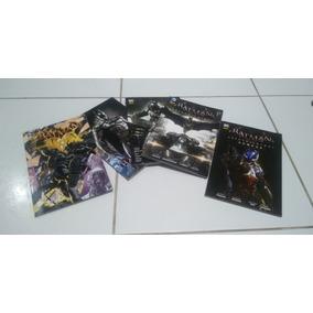 Hq Lote Batman Arkham Knight Volume 1, 2, 3, Gênese, Origens