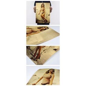 Poster Scarlett Johansson 51x36 Cm Modelo 2