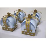 Cajas En Forma De Corona De Princesas, Principe