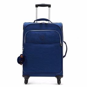 Mochila Carrinho 4 Rodas Kipling Parker Azul
