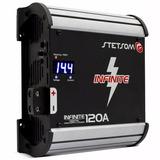 Fonte Automotiva Stetsom 120a Infinite Carregador 120 Ampere
