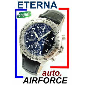 Eterna Airforce Automatic Chronograph Militar Moderno !