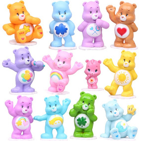 12 Miniaturas Ursinhos Carinhosos - Últimas Unidades