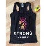 Musculosa Zumba Strong Original Extra Small