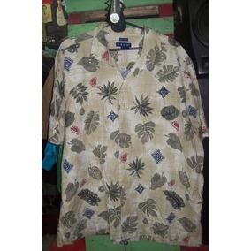 Camisa Hawaiana Psicodelica Retro Vintage 80s C 738