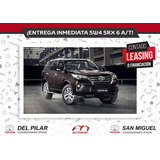 Toyota Hilux Sw4 Srx 6a/t 7asientos - Leasing