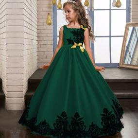 Vestidos de fiesta color verde menta para ninas