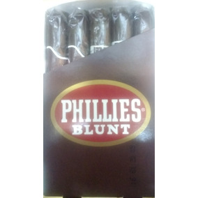 Puros Cigarros Phillies Blunt Chocolate Caja X 25 Orig Ee Uu
