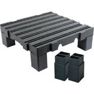 1 Estrado 50x50x4,5 Cm Com 5 Prolongadores Fabricante 13 Cm