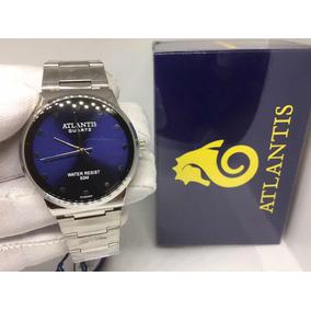 92e3e9b9938 Relogio Atlantis Aquacity Fundo Azul - Relógios no Mercado Livre Brasil