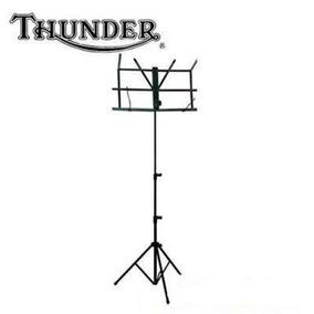 Atril Thunder Plegable Economico Con Funda